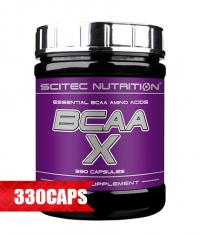 SCITEC BCAA-X 330 Caps.