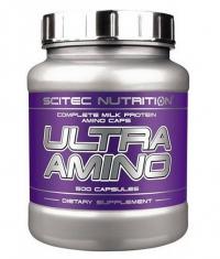 SCITEC Ultra Amino 500 Caps.