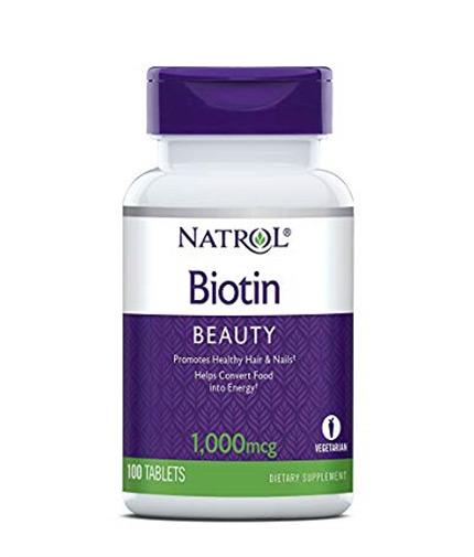 natrol Biotin 1000mcg. / 100 Tabs.