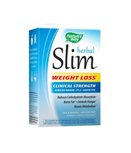 natures-way Herbal Slim Weight Loss 338mg. / 60 Vcaps.