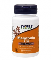 NOW Melatonin 3mg. / 180 Caps.