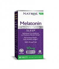 NATROL Advanced Sleep Melatonin 10mg. / 60 Tabs.