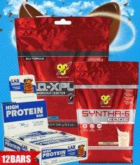 PROMO STACK PR 2 (BSN SYNTHA-6 DOAR cu aroma de chocolate peanut butter)