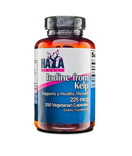 haya-labs Iodine from Kelp 225mcg. / 250 Vcaps.