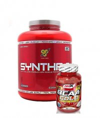 PROMO STACK BSN Syntha-6 5 Lbs. / Amix BCAA Gold 300 Tabs.