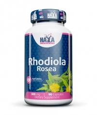 HAYA LABS Rhodiola Rosea Extract 500mg / 90 Caps.