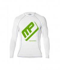 MUSCLE PHARM SportsWear Rashguard /White/
