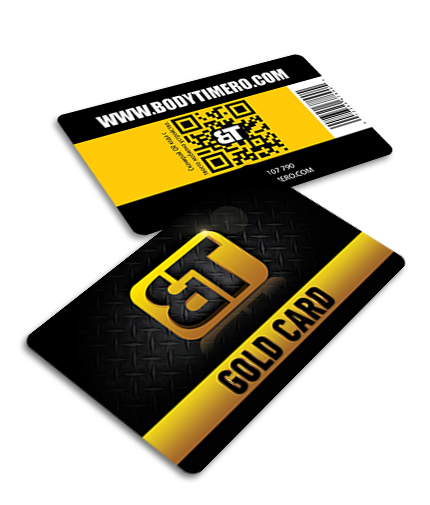 bodytimero Gold Card