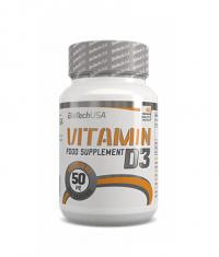 BIOTECH USA Vitamin D3 / 60 Tabs.