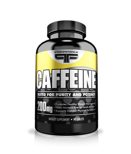 PRIMAFORCE Caffeine 200mg. / 90 Tabs.