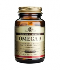 SOLGAR Omega 3 Double strength / 30 caps.
