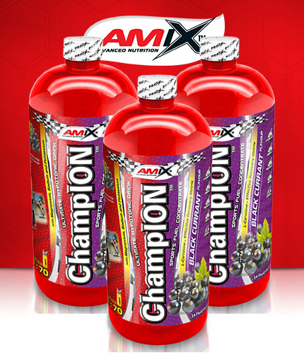 AMIX ChampION ™ Sports Fuel 1000ml. / x3