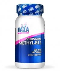 HAYA LABS Methyl-B12 / 200mcg / 100 Tabs.