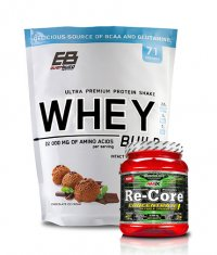PROMO STACK Everbuild Whey Build 5 Lbs. / AMIX Re-Core Concentrated 540g.