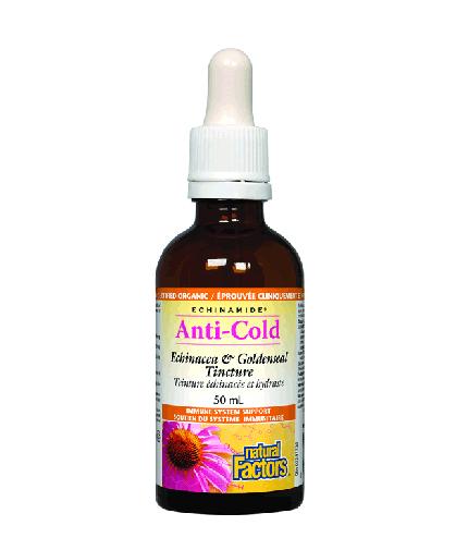 natural-factors Anti-Cold Echinacea & Goldenseal Tincture / 1000mg