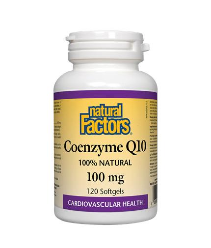 natural-factors Coenzyme Q10 100mg / 60soft.
