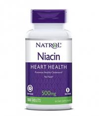 NATROL Niacin Time Release 500mg / 100 tabs