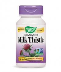 NATURES WAY Milk Thistle Standardized 60 Caps.