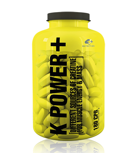 4-nutrition K POWER + / 180caps