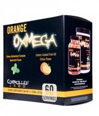 CONTROLLED LABS Orange OxiMega Kit  /Super Fish Oil & Greens/