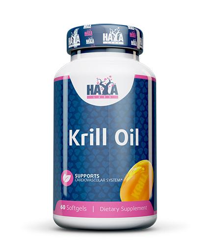 HAYA LABS Krill oil 500mg / 60soft.