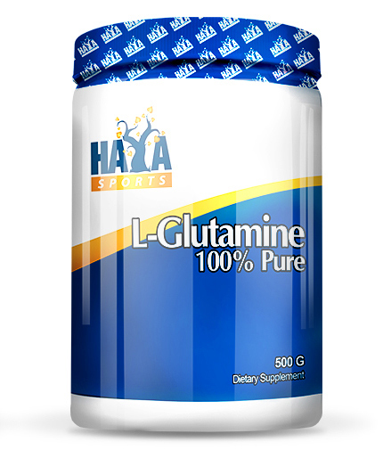 HAYA LABS Sports 100% Pure L-Glutamine