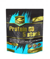 Z-KONZEPT Protein 80 5 stack