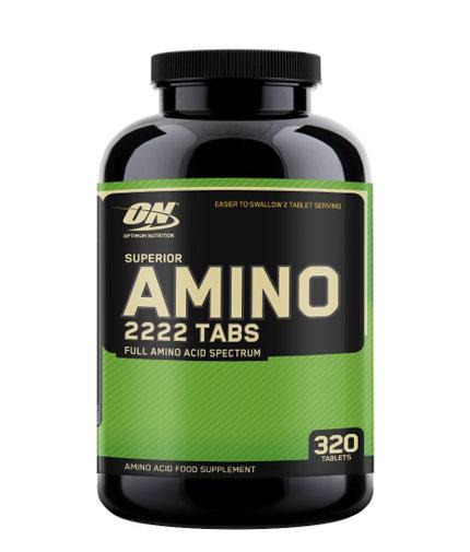 optimum-nutrition Superior Amino 2222 / 320 Tabs.