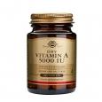 SOLGAR Vitamin A 5000 IU dry tabs / 100 Tabs.