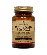 SOLGAR Folic Acid 800 mg / 100 tabs.