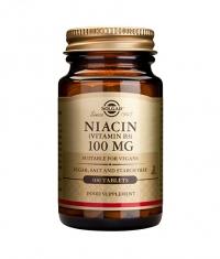 SOLGAR Niacin 100mg / 100 tabs.