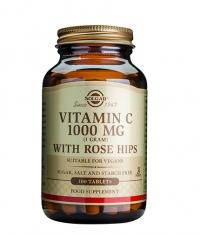 SOLGAR Vitamin C + Rose Hips 1000mg / 100 tabs.