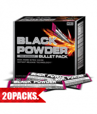 MRI Black Powder® - Bullet Pack / 20 Packs.