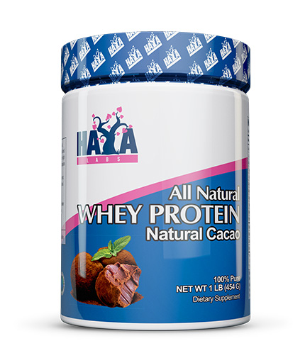 HAYA LABS 100% All Natural Whey Protein  / Organic Cacao