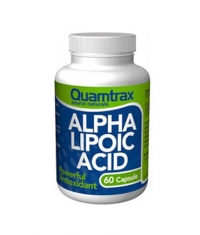 QUAMTRAX NUTRITION Alpha Acid Lipoic (ALA) 200mg / 60 caps.