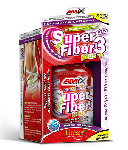 AMIX Super Fiber3 Plus 90 Caps.