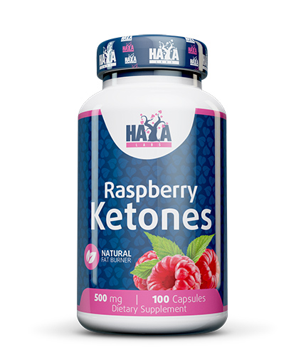 HAYA LABS Raspberry Ketones 500mg / 60 Caps.