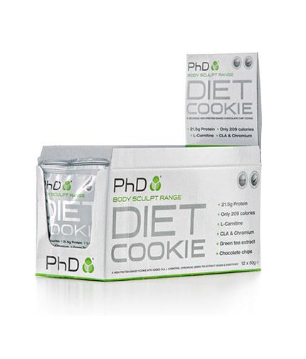 PhD Diet Cookie /12x50g./