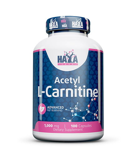 HAYA LABS Acetyl L-Carnitine 500mg / 100 Caps.